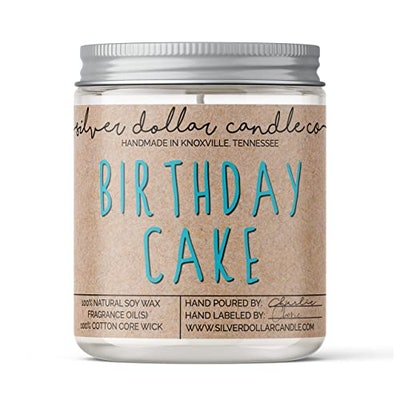 Silver Dollar Candle Co. Birthday Cake Scented Candle