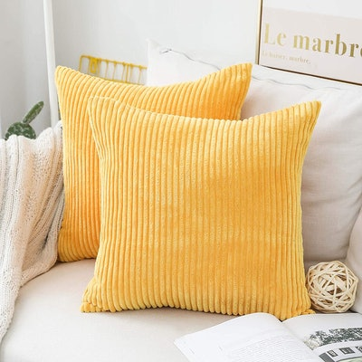 Home Brilliant Decorative Pillow Covers (2-Pack)