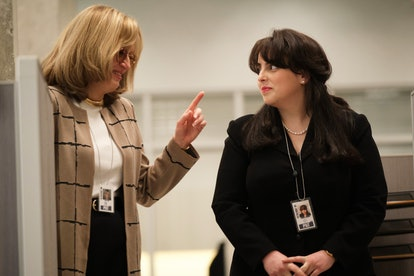 Monica Lewinsky and Linda Tripp talk in 'Impeachment.'