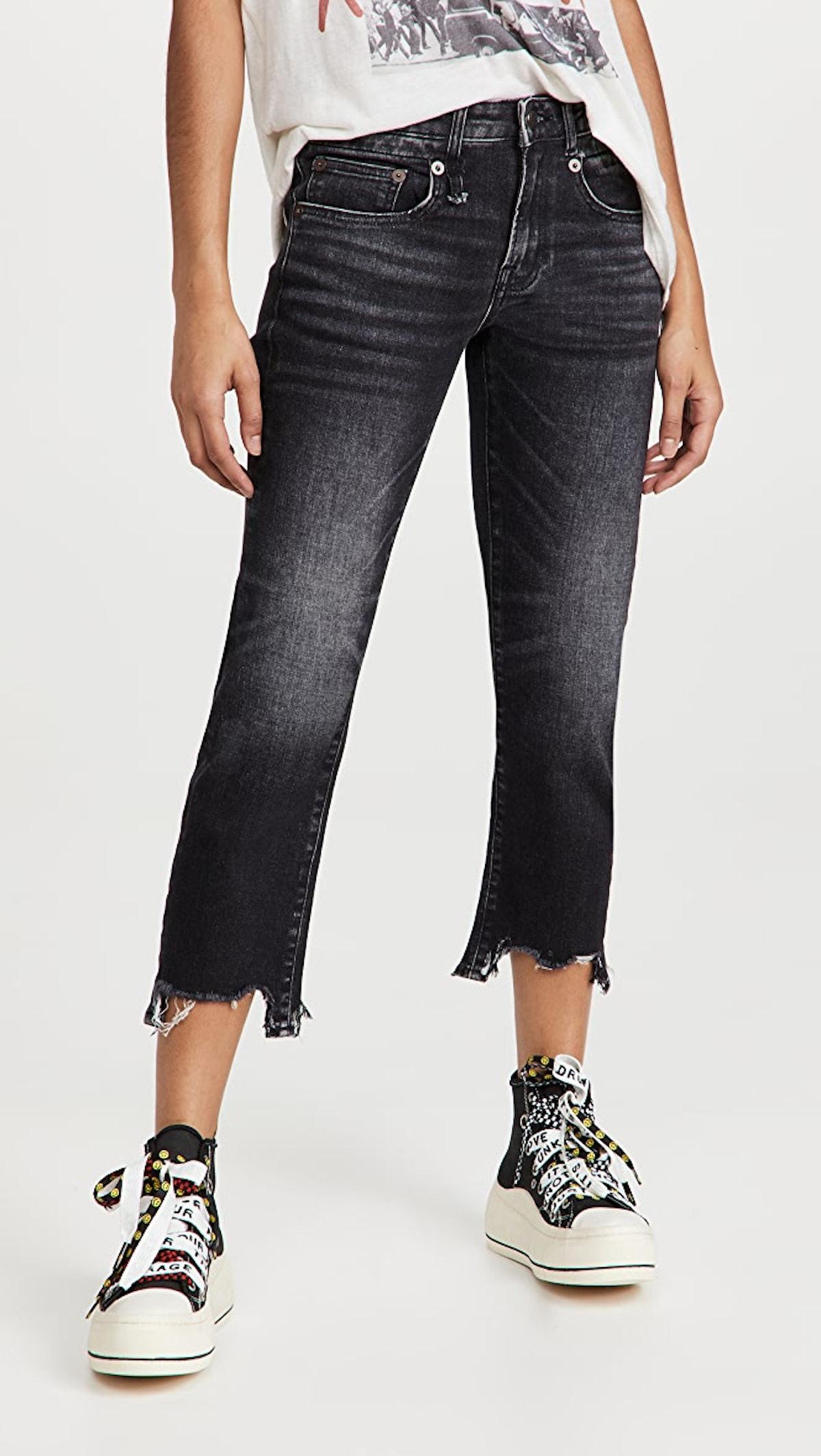 Women's Boy Straight Jeans