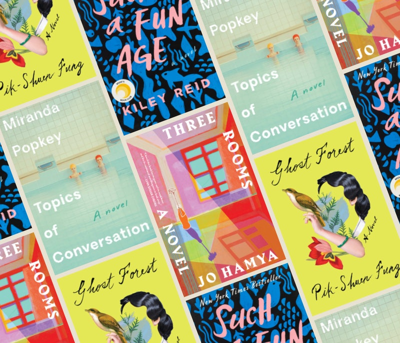 'Topics of Conversation,' 'Ghost Forest,' 'Such a Fun Age,' and 'Three Rooms' are great books to rea...
