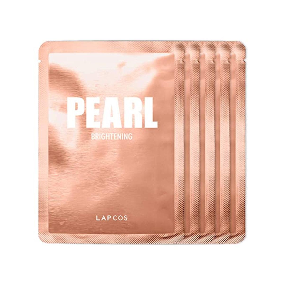 LAPCOS Pearl Sheet Mask (5-Pack)