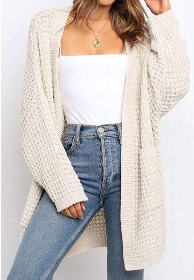 ZESICA Chunky Knit Cardigan
