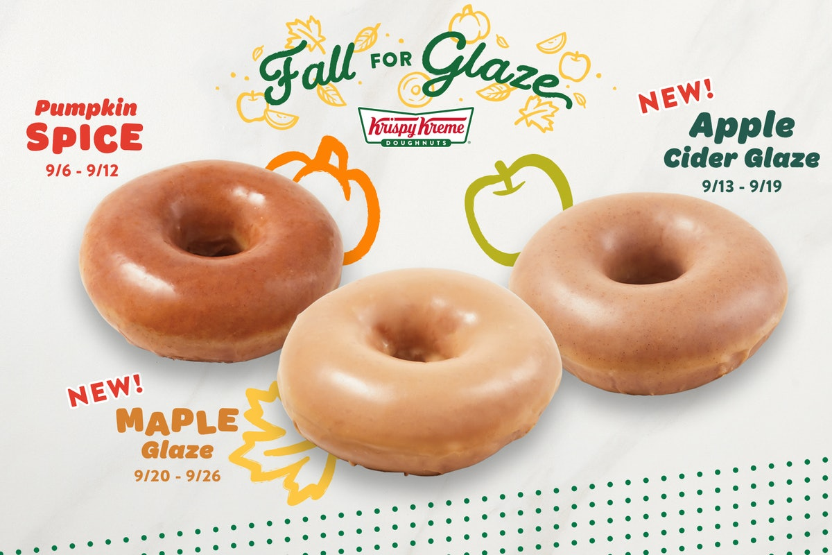 How long are Krispy Kreme's fall 2021 doughnuts available? Act fast.