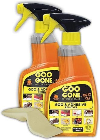 Goo Gone Adhesive Remover Spray Gel (2-Pack)