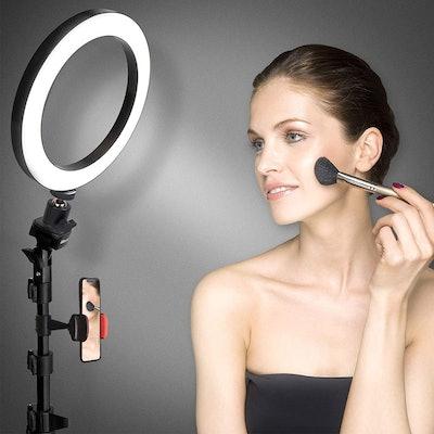UBeesize Selfie Ring Light & Cell Phone Holder