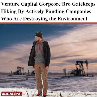 deadstock report streetwear memes gorpcore