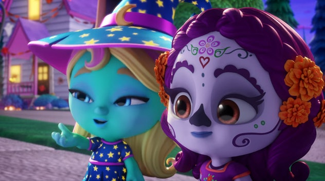 Super Monsters is about a preschool of friendly monsters.