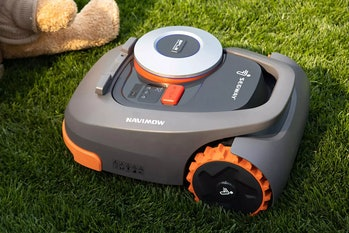Segway's Navimow is the company's first autonomous robotic lawnmower.