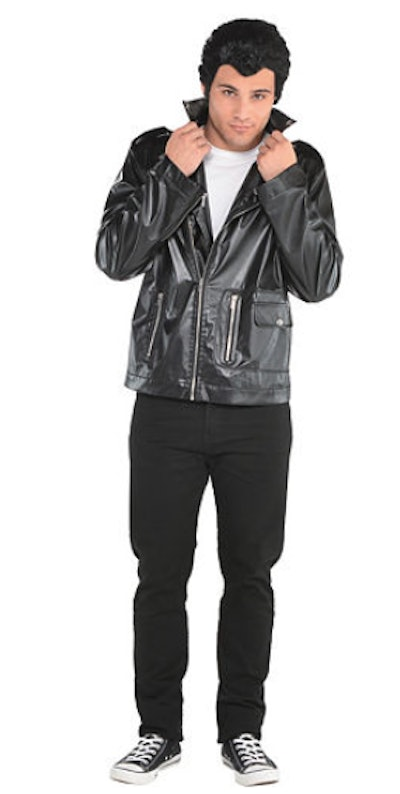 Man dressed as Danny from the movie Grease