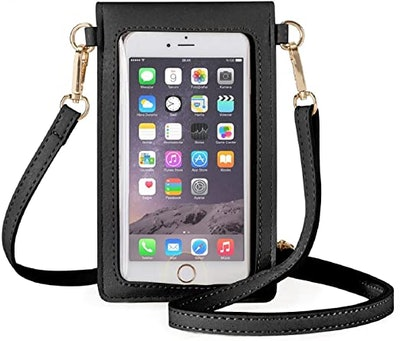 AnsTOP Leather Phone Purse