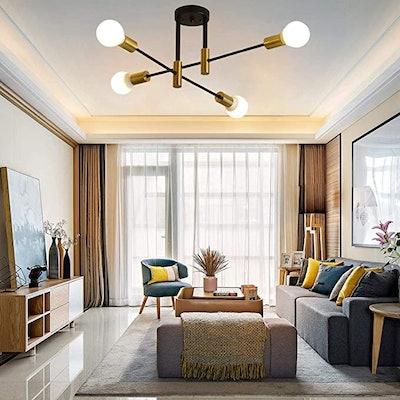 L/Y Mid Century Modern Ceiling Light