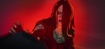 Undead Wanda Maximoff mourns The Vision in What If...? Episode 5.