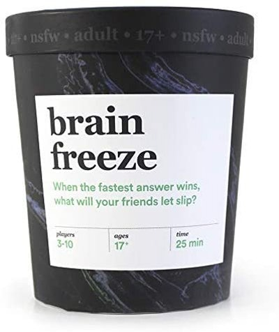 Brain Freeze Card Game - NSFW Edition