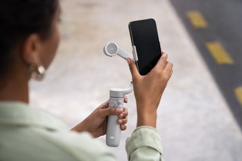 Osmo Mobile 5 smartphone stabilizer for smooth footage