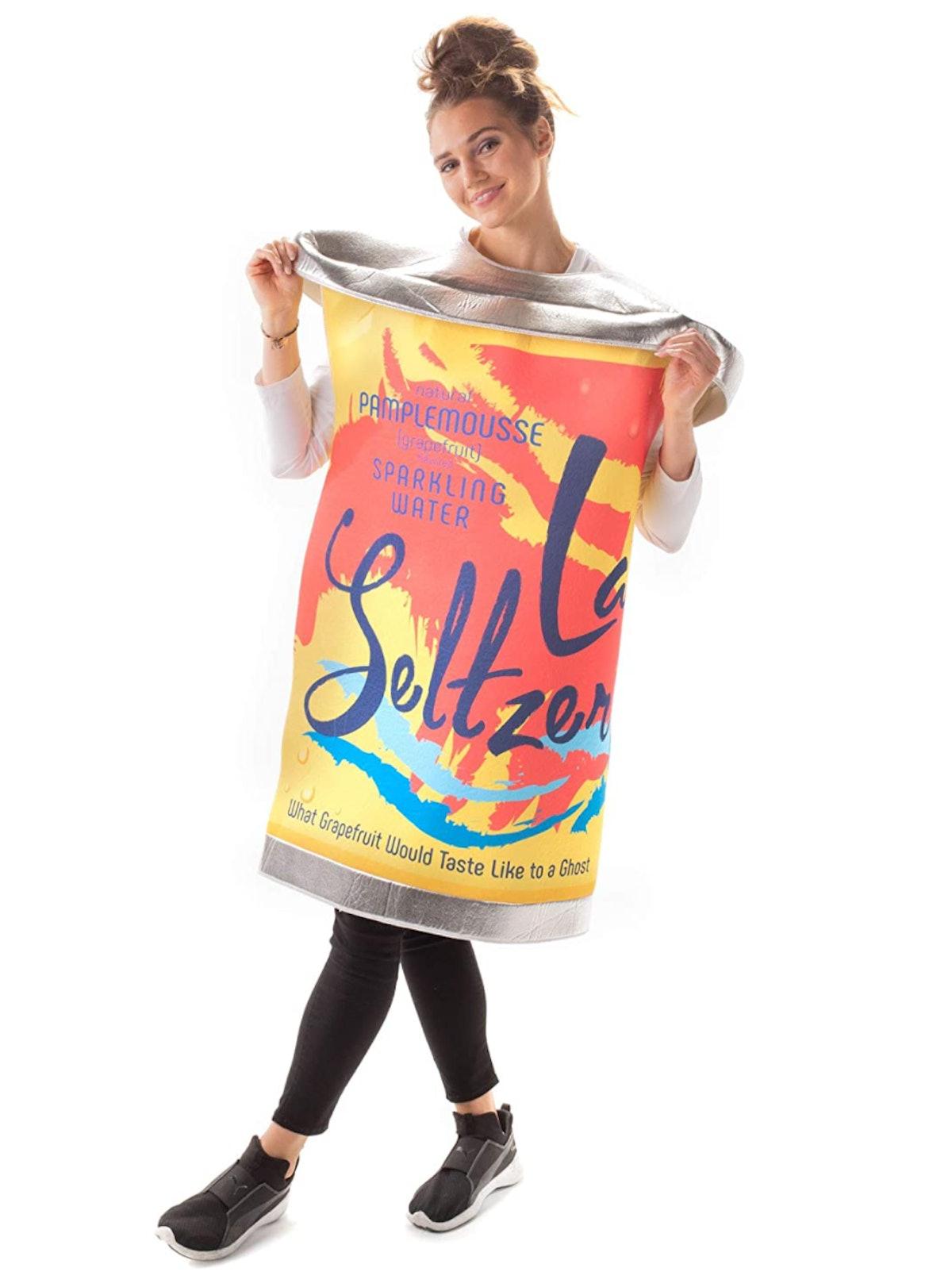 La Seltzer Soda Can Halloween Costume