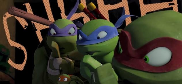 'Teenage Mutant Ninja Turtles' is streaming on Hulu.
