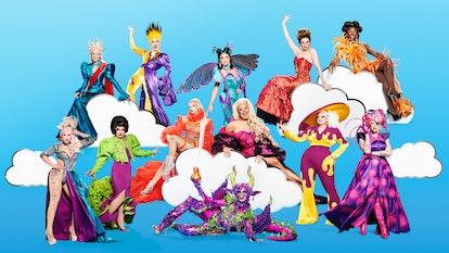 The 'Drag Race UK' season three queens.