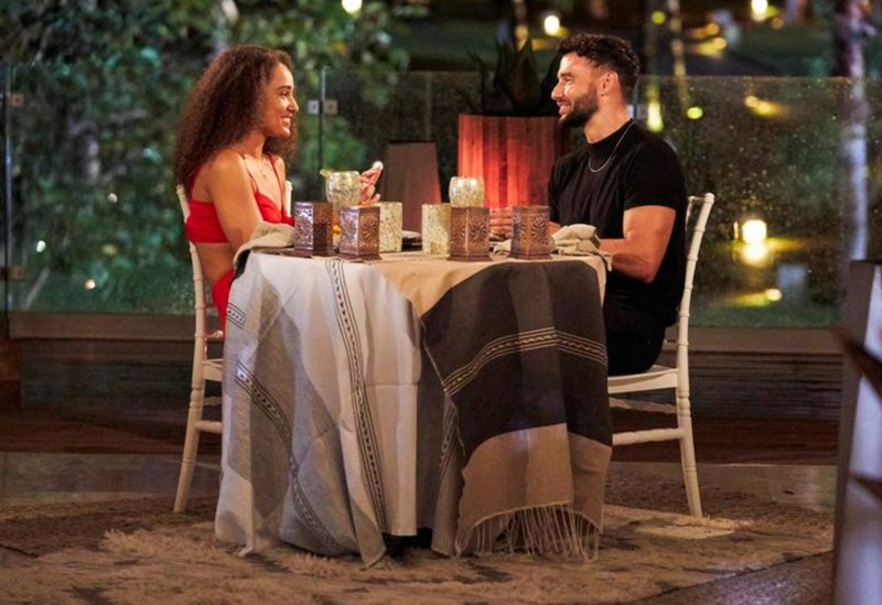 Brendan Morais and Pieper James on their first date on 'Bachelor in Paradise'