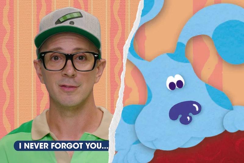 Steve, the original 'Blue's Clues' host.