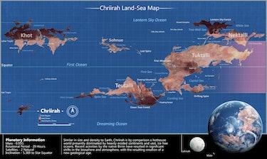 Map of Chriirah