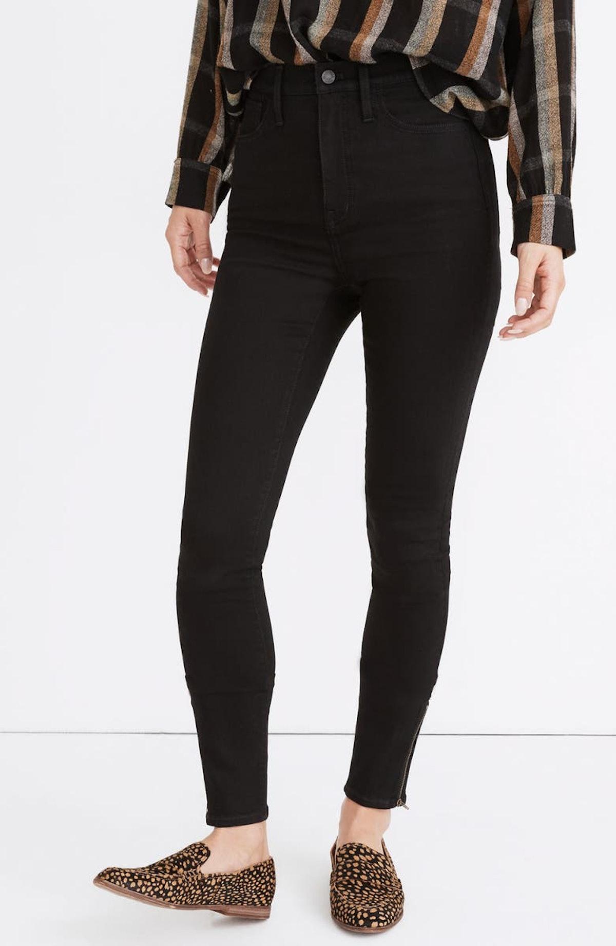 Roadtripper Jeans in Black Frost with Ankle Zip