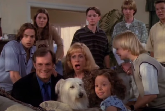 7th Heaven first aired on the WB.