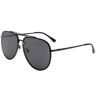 VIVIENFANG Aviator Sunglasses