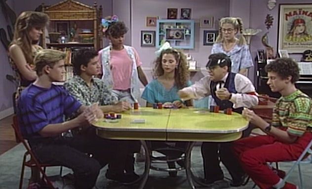'Saved by the Bell' first aired on NBC.