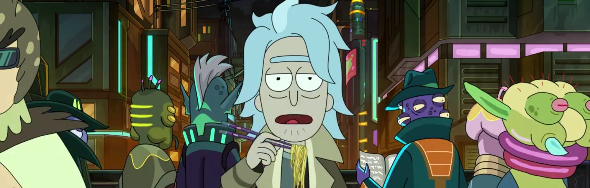 rick and morty season 5 finale blade runner