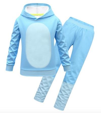 Bluey hoodie and pants costume