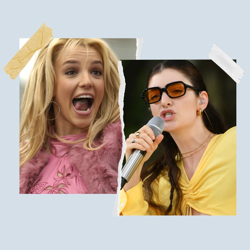 Britney Spears and Lorde.
