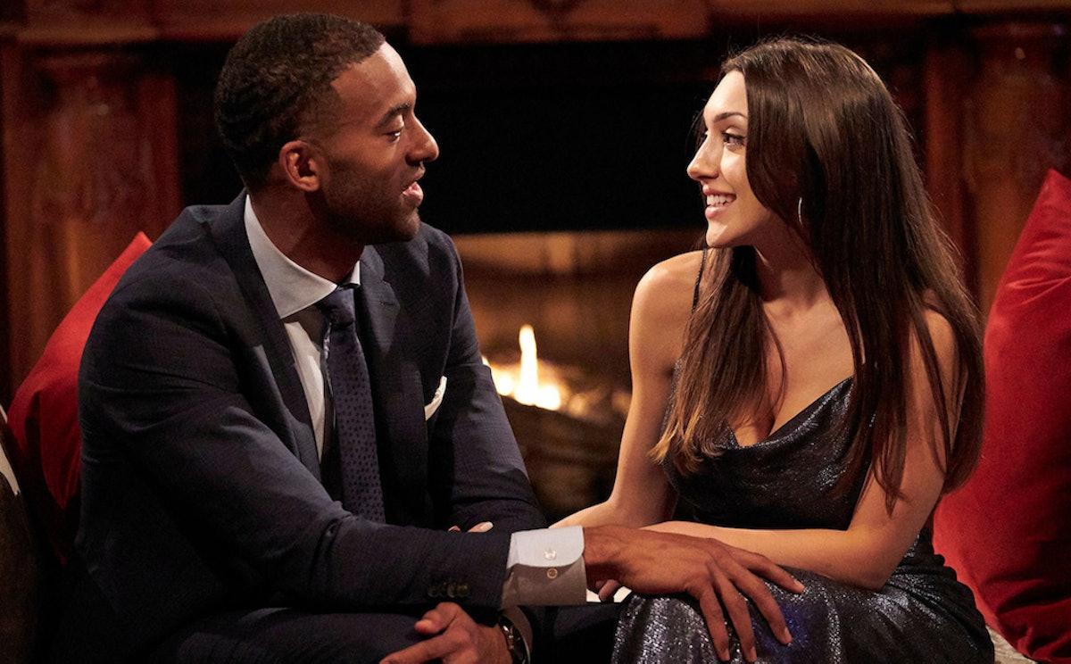 Matt James and Alana Milne on Season 25 of ABC's 'The Bachelor'