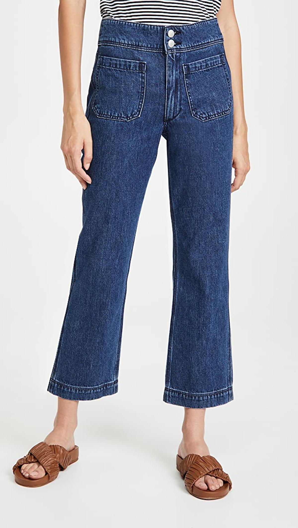 Women's Naval Crop Jeans