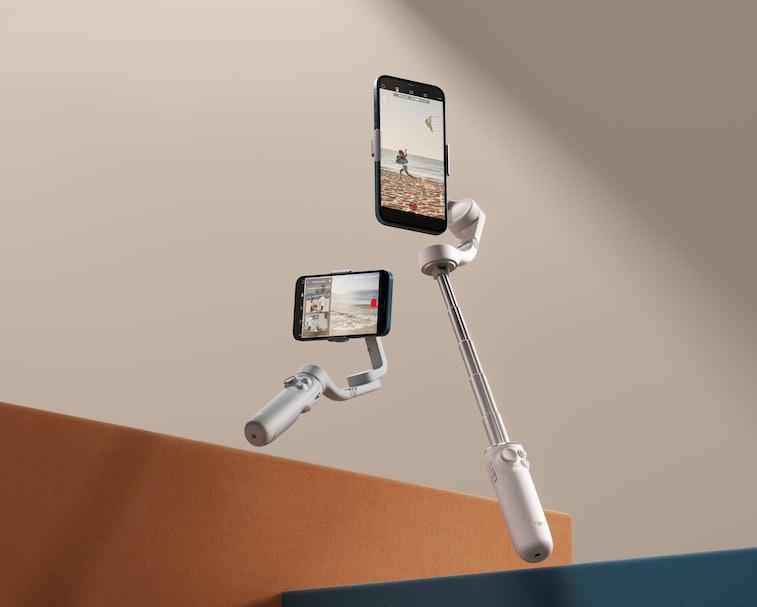 DJI Osmo Mobile 5 telescoping gimbal for smartphones