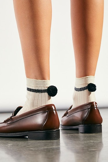 Andre Rib Pom Socks Free People