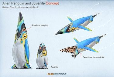 Pengwing design