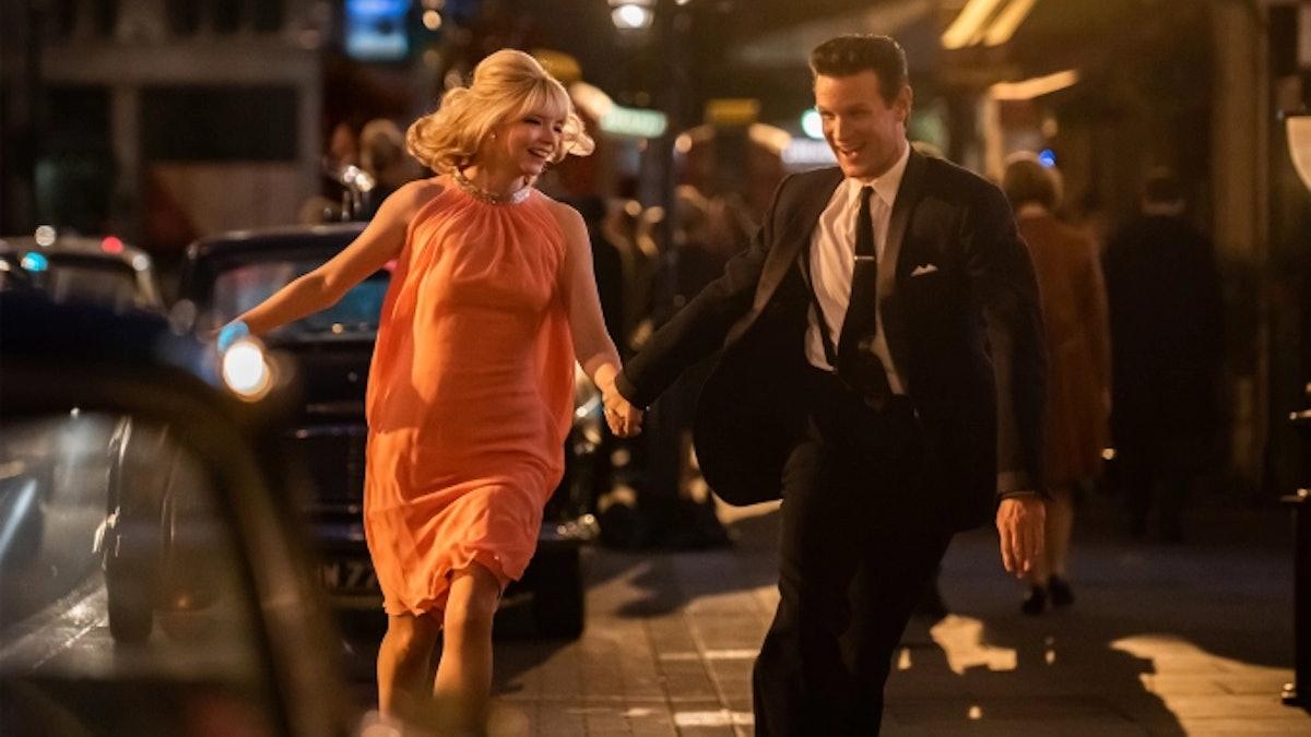 Anya Taylor-Joy and Matt Smith in Last Night in Soho.