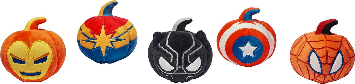 Marvel dog toys are part of Chewy's Disney Halloween toy collection.