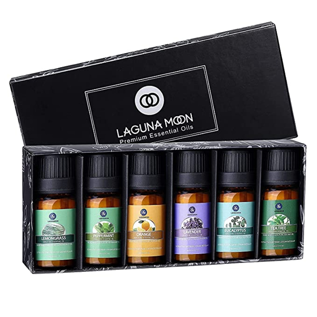 Lagunamoon Essential Oils Gift Set (6-Piece)