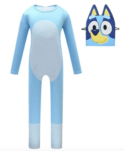Bluey costume with mask