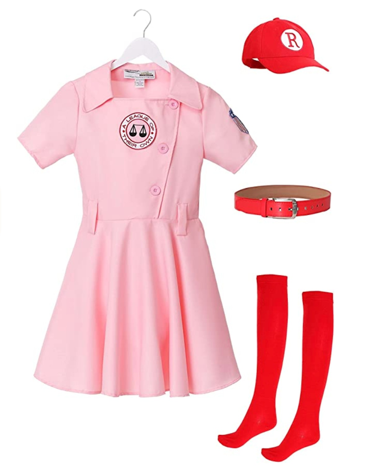 """""""A League of Their Own"""" Embroidered Dottie Costume Set"""