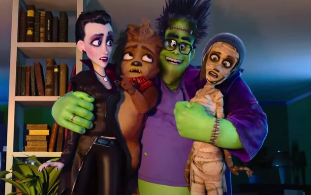 Watch Monster Family, rated PG, on Amazon Prime.