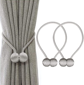 IHClink Window Curtain Magnetic Tieback Clips