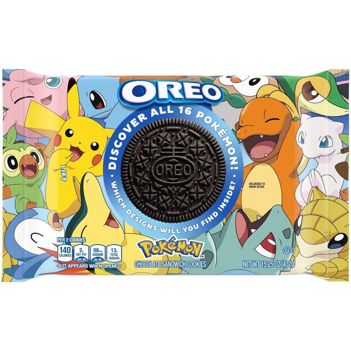 Limited Edition Pokémon x OREO Cookies