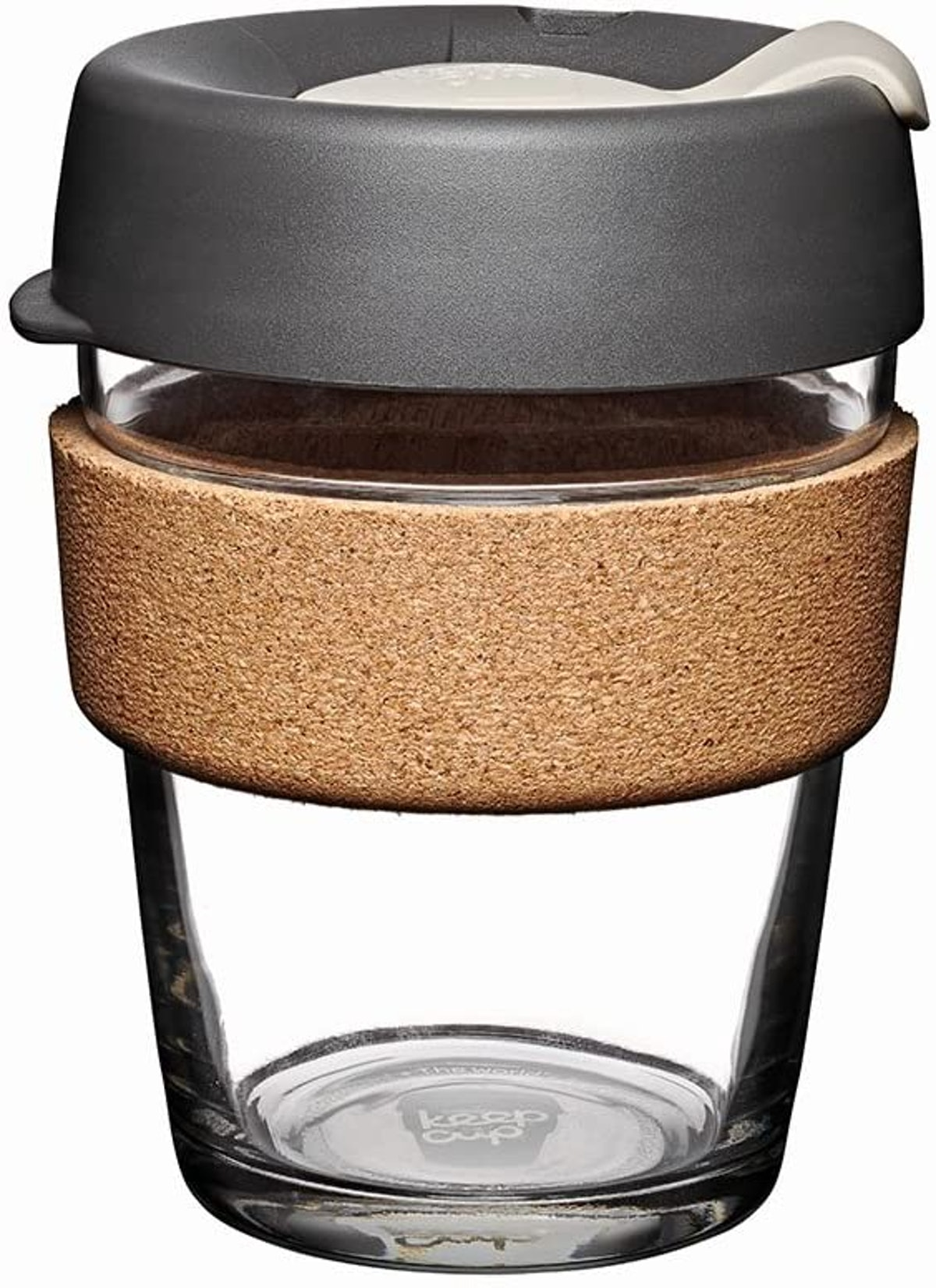 KeepCup Reusable Glass Cup with Cork