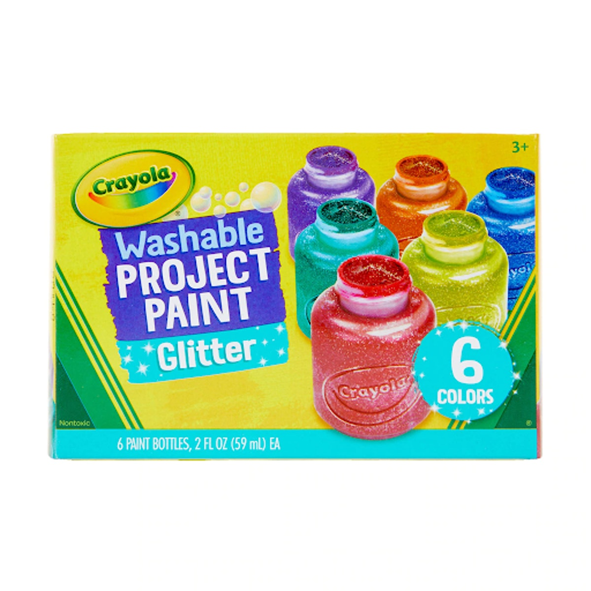Crayola Glitter Washable Kids' Paint
