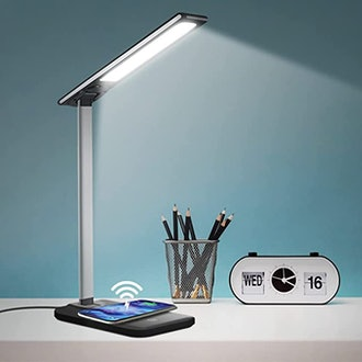 GSBLUNIE LED Desk Lamp with Wireless Charger
