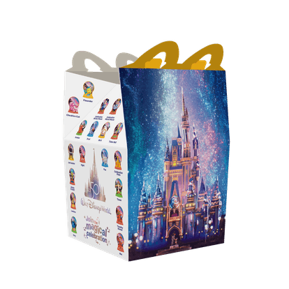Participating McDonald's will release a limited-edition Happy Meal box and toys to celebrate the 50t...