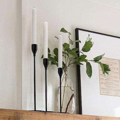 DEVI Candlestick Holders (Set of 3)